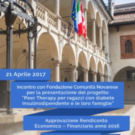 ASSEMBLEA ORDINARIA SOCI E PRESENTAZIONE PROGETTO PEER THERAPY