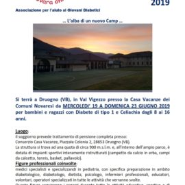 ANTEPRIMA DRUOGNO CAMP 2019